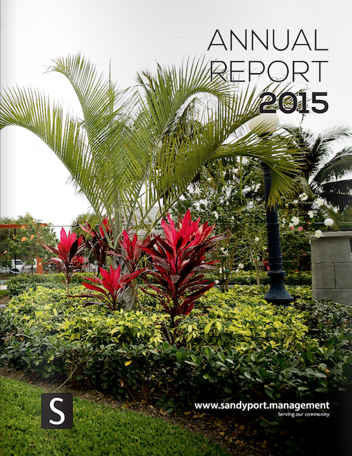 2015 Annual Report | Sandyport Homeowners Association